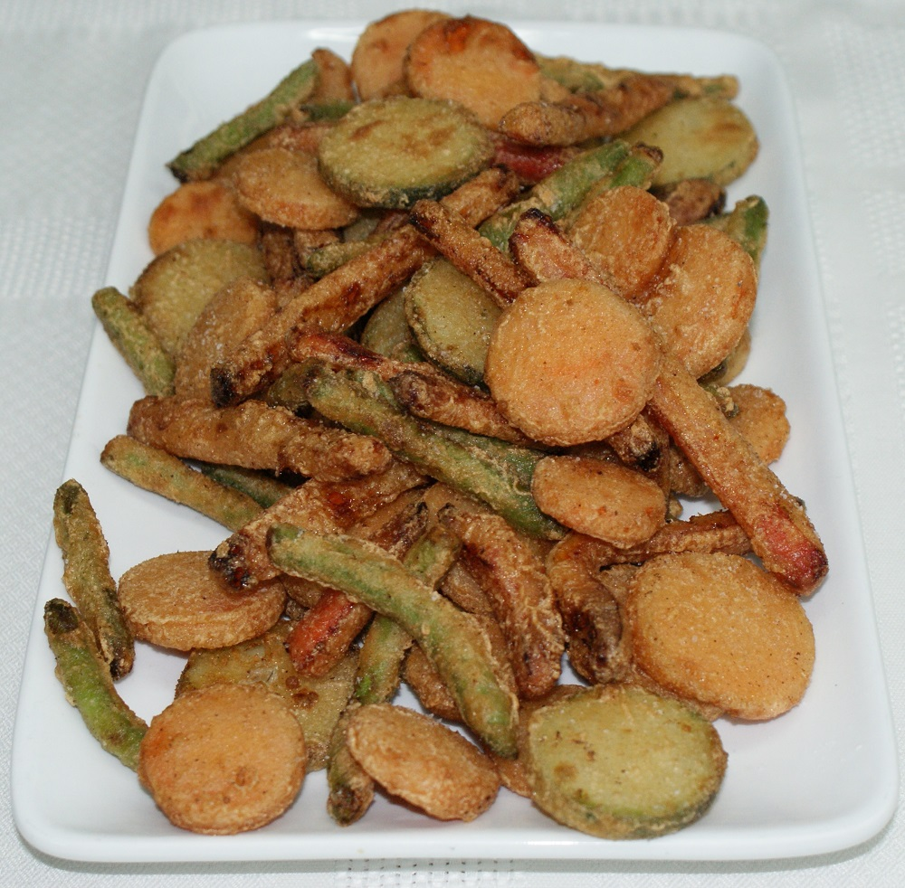Verduritas en tempura con rebozados crujientes